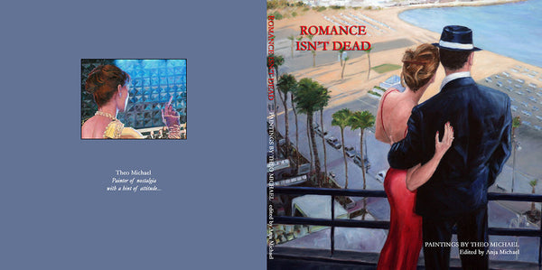 Theo Michael's book Romance Isn't Dead, oil paintings and Theo's story