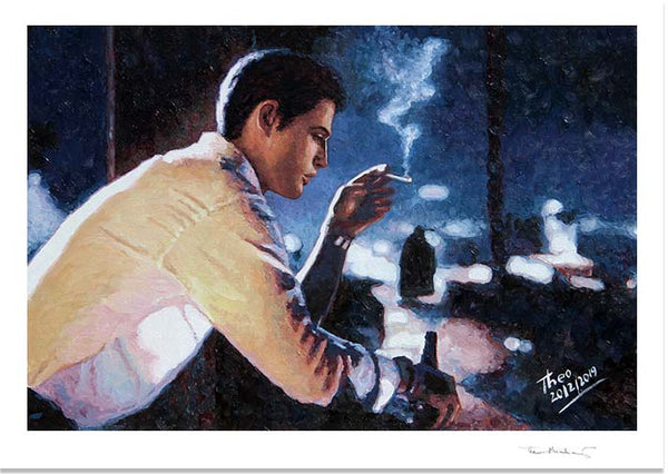 Film Noir style fine art print by Theo Michael
