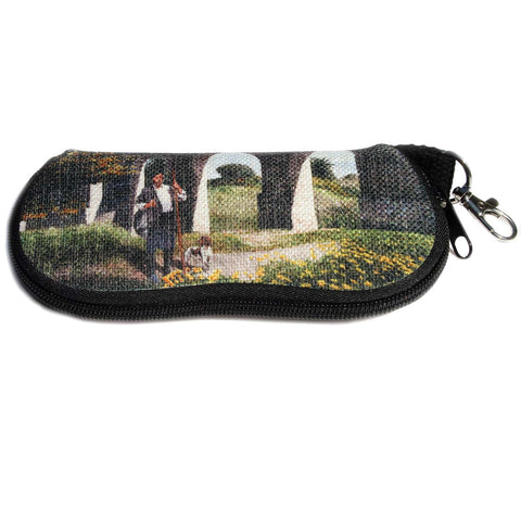 Glasses case, The Shepherd at the Kamares aqueduct in Larnaca