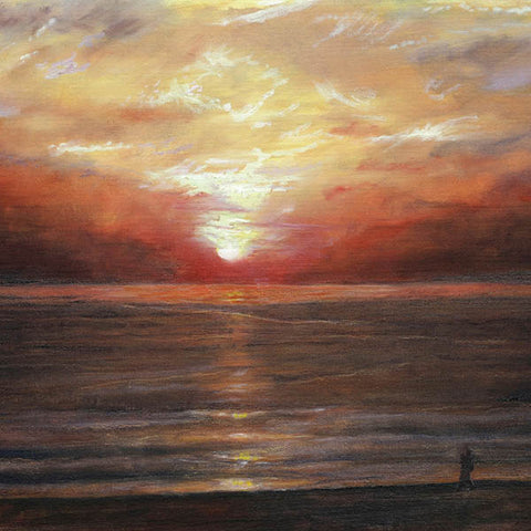 Mediterranean painting Art by Theo Michael, Sunrise