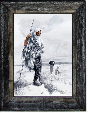 The Shepherd, limited edition giclee fine art print