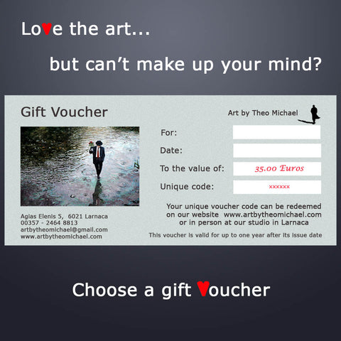 Gift Vouchers from Art by Theo Michael