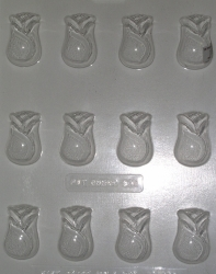 12 Rose Pieces Chocolate Mold