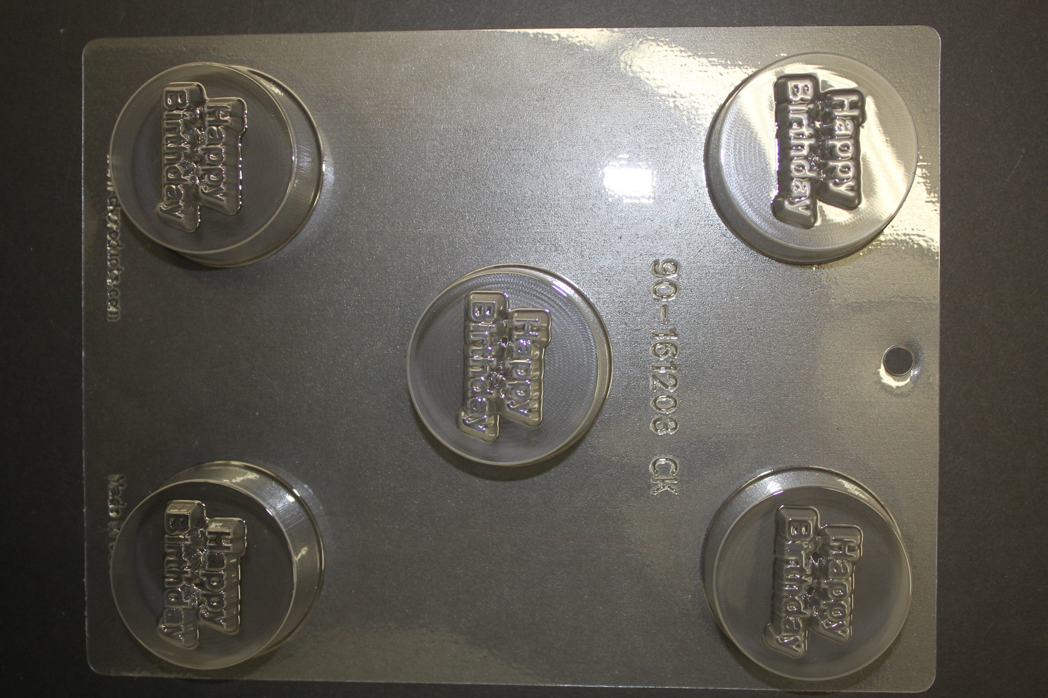 5 Happy Birthday Deep Nuggets Candy Pop Chocolate Mold
