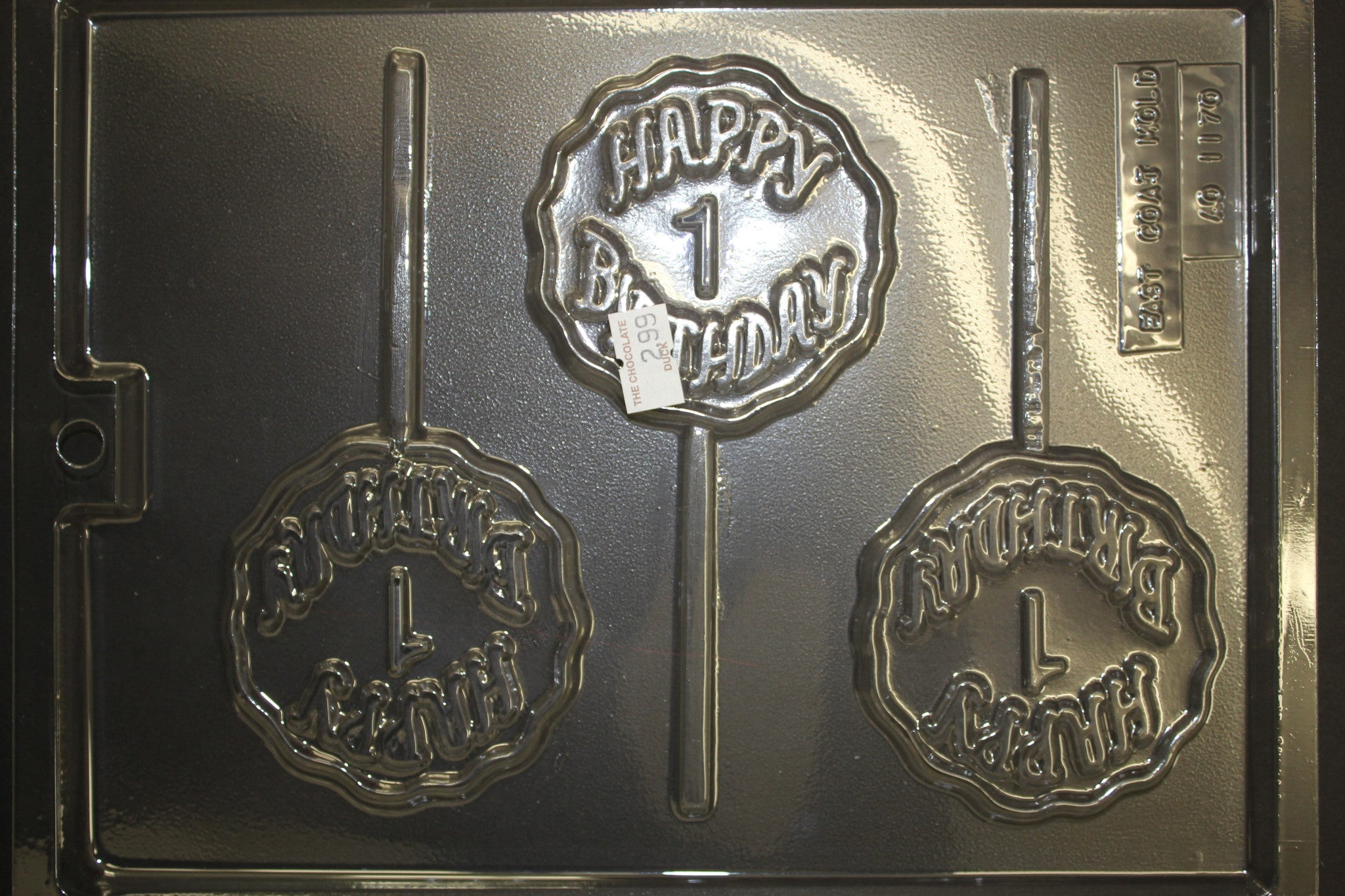 Happy 1st Birthday Chocolate Mold