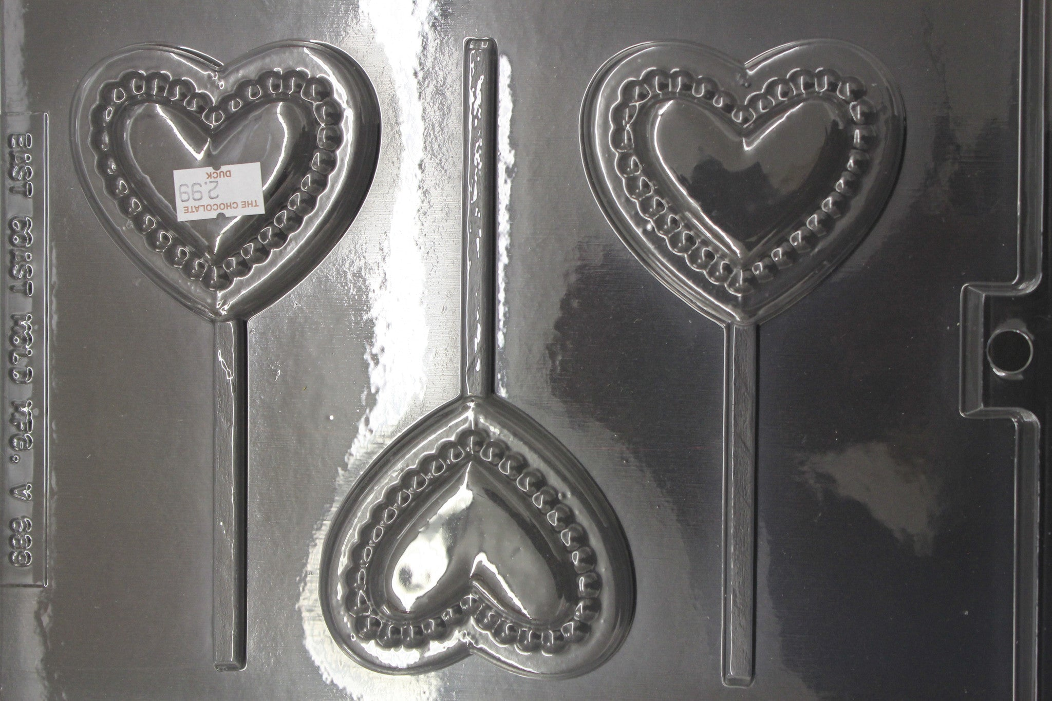 Pearl Heart Pop Mold