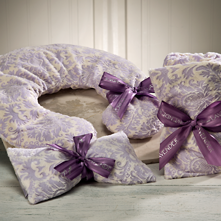 Lilac Damask Spa Collection