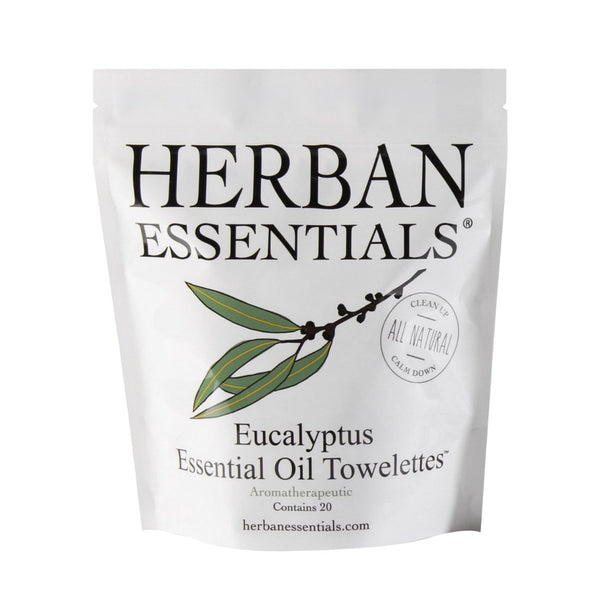 Herban Essentials Essential Oil Towelettes - Eucalyptus