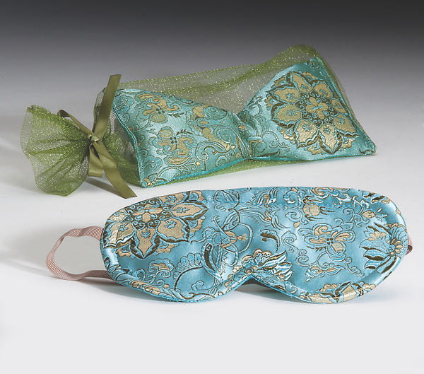 OceanAire Mermaid Brocade Eye Pillow & Sleep Mask