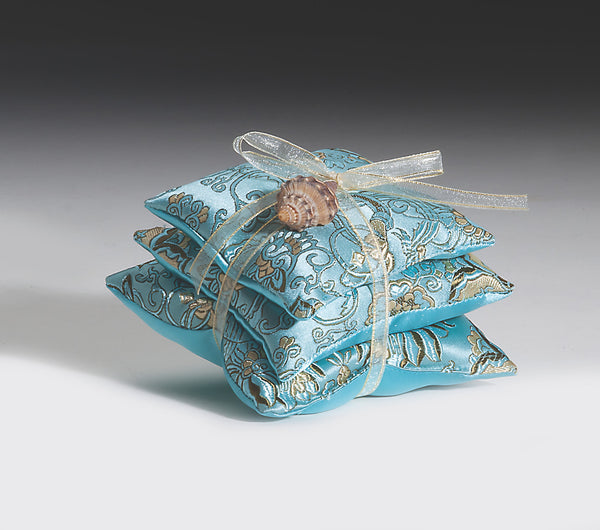 OceanAire Mermaid Brocade Sachet Trio