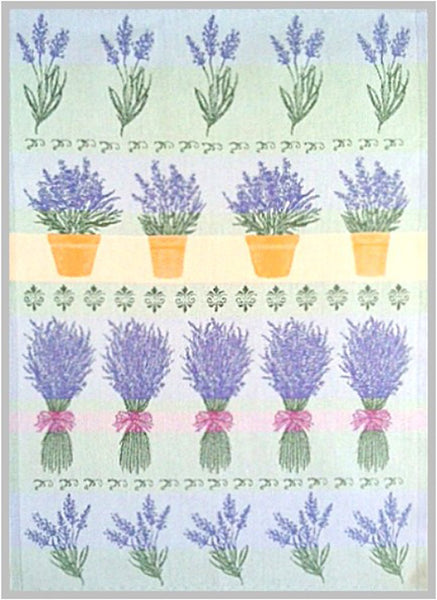 European Tea Towel - Swedish Lavender