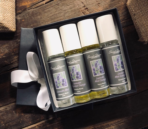 Sweet Streams Lavender Co. - Lavender Rollers Gift Set