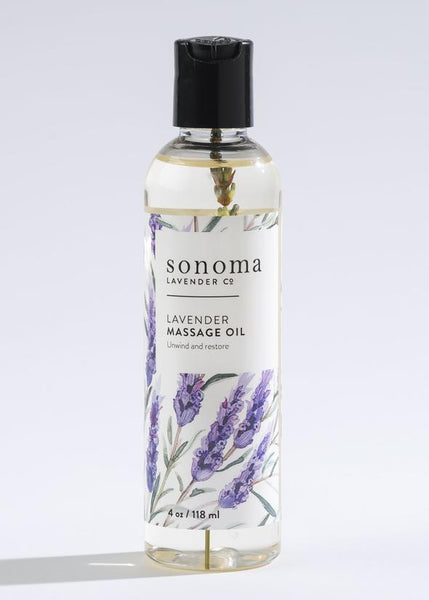 Sonoma Lavender Massage Oil