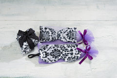 Black & White Sleep Mask, Eye Pillow and Sachet Trio - Sonoma Lavender Shop