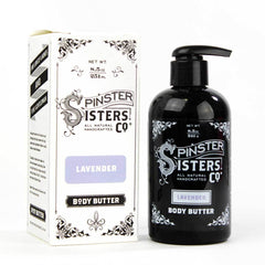 Spinster Sisters Lavender Body Butter 8.5oz Pump Bottle