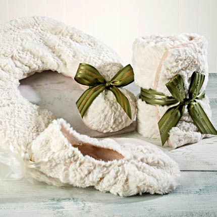 Sonoma Eucalyptus Polar Bear Heated Footies and Spa Mask