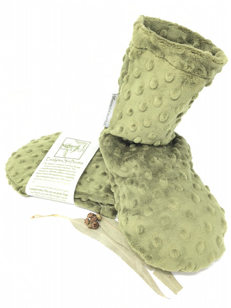 Sonoma Eucalyptus Spa Green Dot Booties