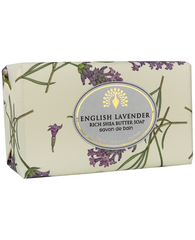 The English Soap Co. English Lavender Vintage Wrapped Soap