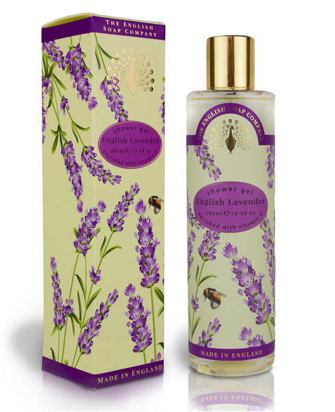 The English Soap Co. English Lavender Shower Gel