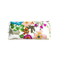 Elizabeth W Silk Eye Pillow - Floral Bush