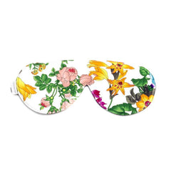 Elizabeth W Silk Sleep Mask - Floral Bush