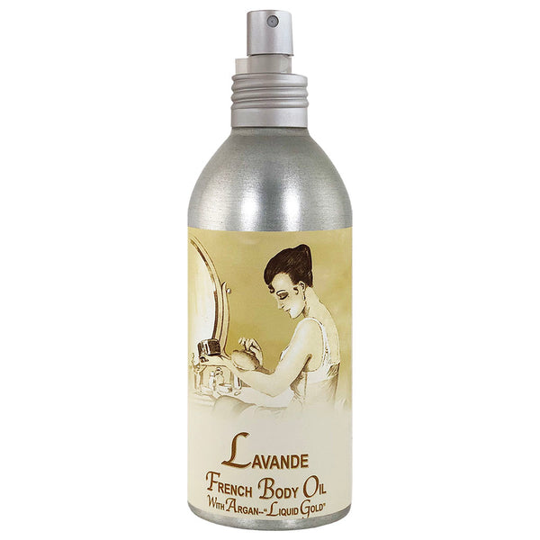 La Bouquetiere Lavender French Argan Body Oil