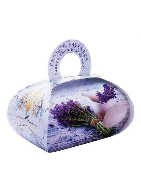 The English Soap Co. English Lavender Large Gift Soap