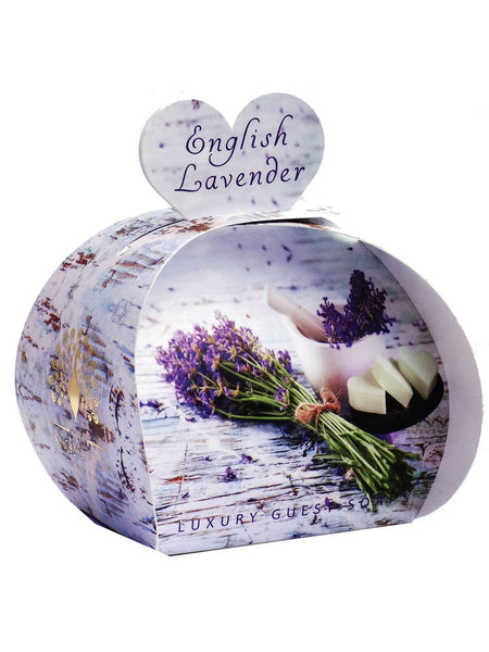 The English Soap Co. English Lavender Luxury Guest Soaps