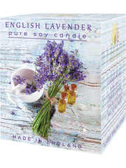 The English Soap Co. English Lavender Soy Candle