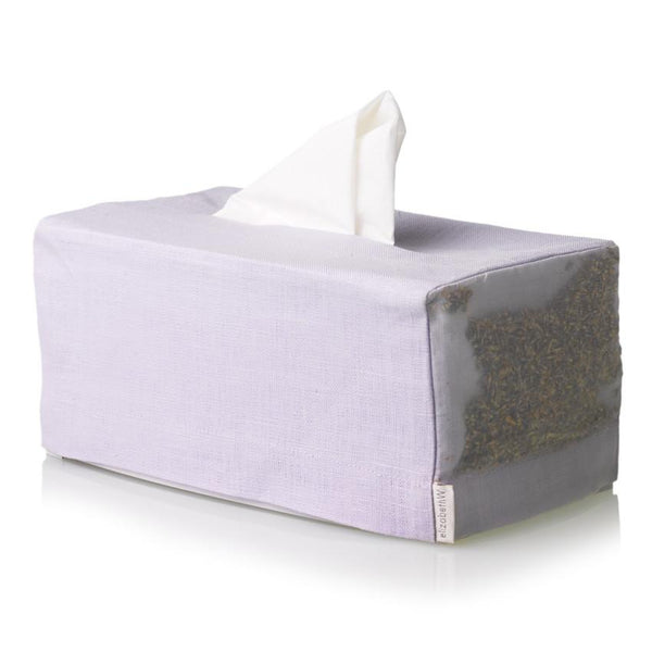 elizabeth W Lavender Long Tissue Covers - Purple