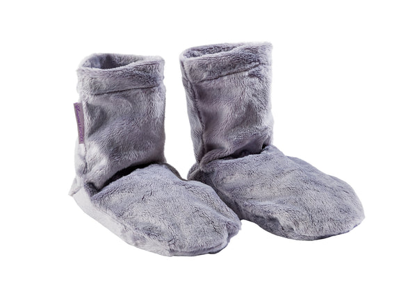 Sonoma Lavender Plush Plata Spa Booties