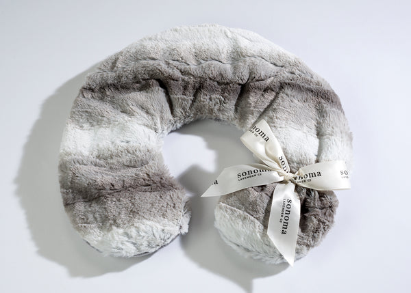 Sonoma Lavender Angora Platinum Neck Pillow