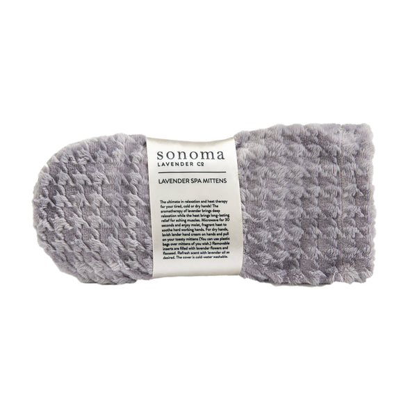Sonoma Lavender Silver Houndstooth Spa Mittens
