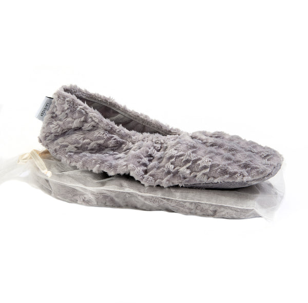 Sonoma Lavender Silver Houndstooth Heated Footies