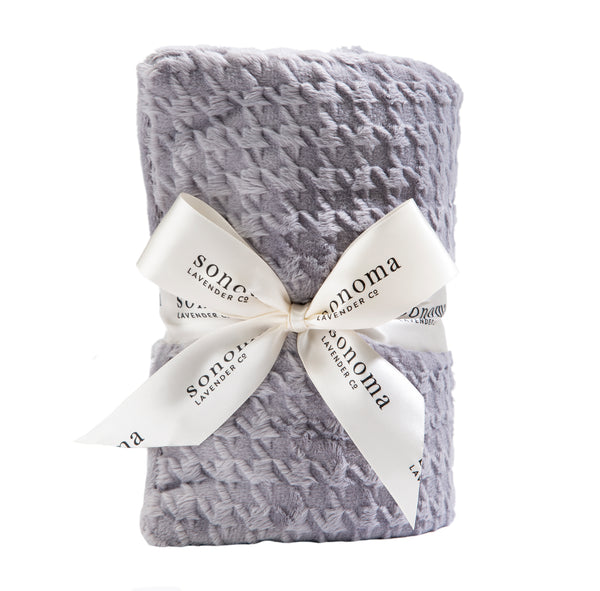 Sonoma Lavender Silver Houndstooth Heat Wrap