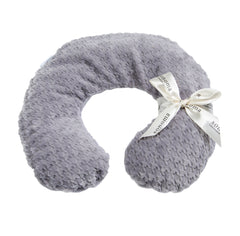 Sonoma Lavender Silver Houndstooth Neck Pillow