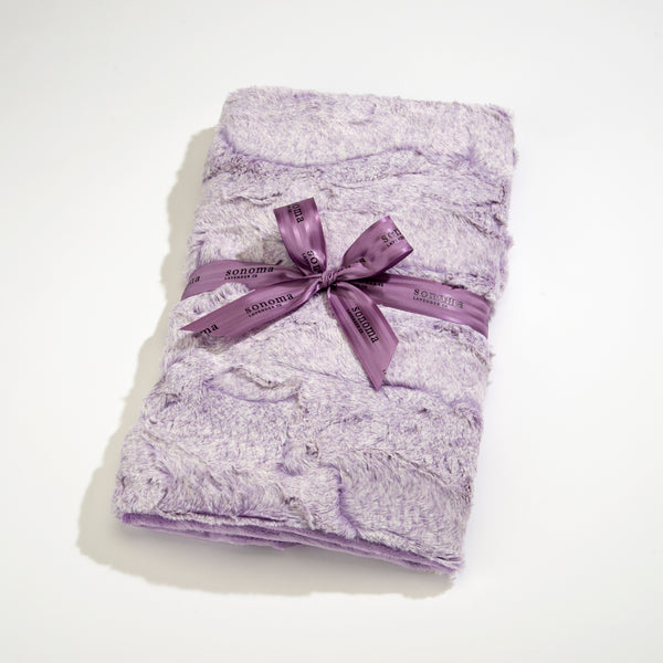 Sonoma Lavender Aster Heather Spa Blankie