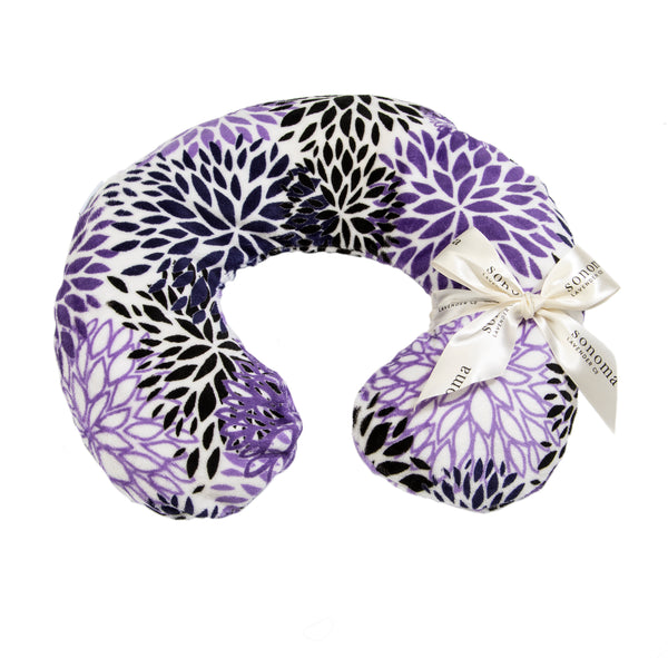 Sonoma Lavender Purple Bloom Neck Pillow