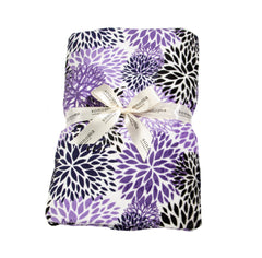 Sonoma Lavender Purple Bloom Spa Blankie