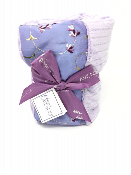Sonoma Lavender Embroidered Lavender Spa Heatwrap