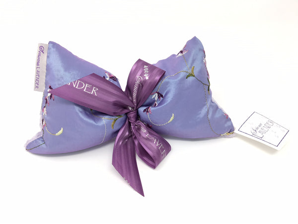 Sonoma Lavender Embroidered Lavender Spa Mask