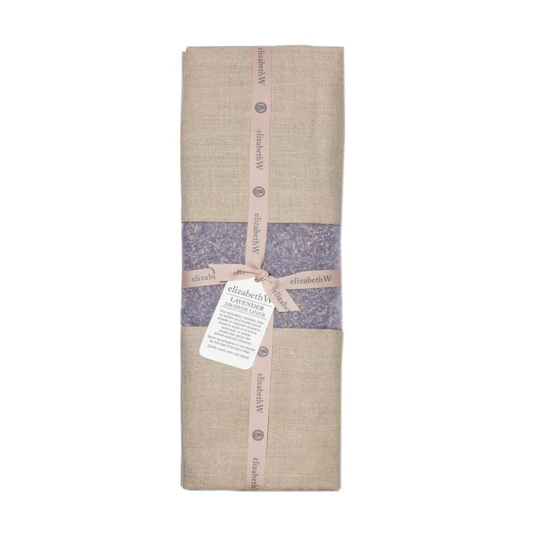 elizabeth W Lavender Drawer Liner - Natural