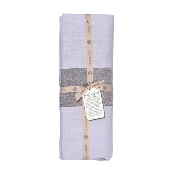 elizabeth W Lavender Drawer Liner - Purple