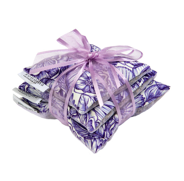 Sonoma Lavender Sachet Trio - Purple Bouquet