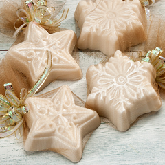 Timber Lake Snowflake Guest Soaps - Sonoma Lavender Shop