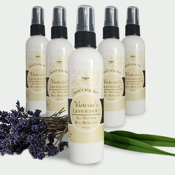 "Victoria's Lavender - ""Don't Bug Me"" All Natural Bug Spray - 4oz"