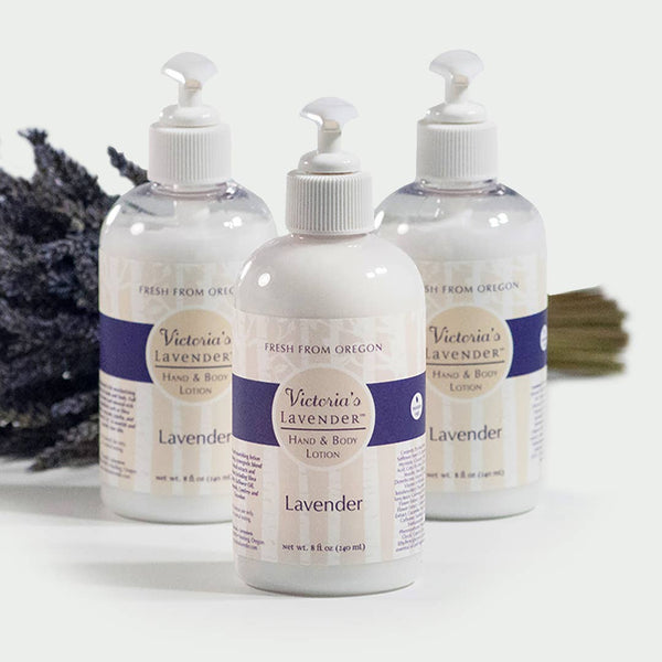 Victoria's Lavender -  Lavender Hand and Body Lotion