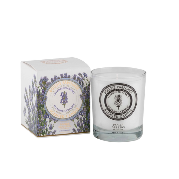 Panier Des Sens Relaxing Lavender Scented Candle With relaxing lavender oil