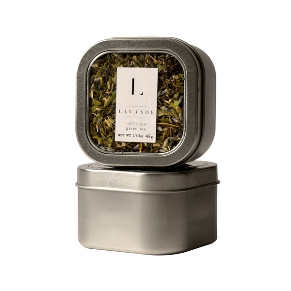 Lavande - Lavender Lemon Ginseng Green Tea