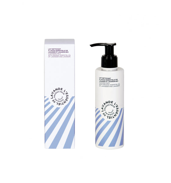 l'Essentiel de lavande Facial Cleansing Milk with Organic Essential Oils of Lavender